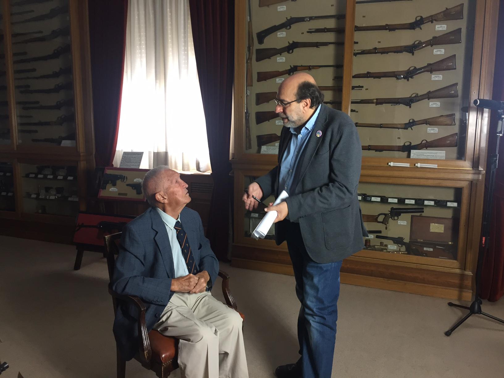 Entrevista a Fermín Garcés por Felipe Hernández Cava.