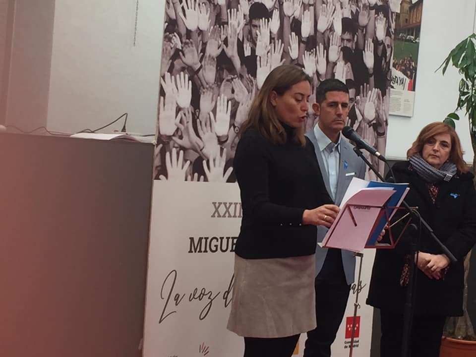 Vicesecretaria de comunicación de la Comunidad de Madrid, Ana Millán.