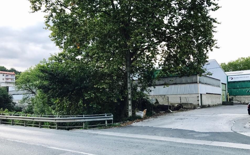 Lugar del asesinato de Pardines.