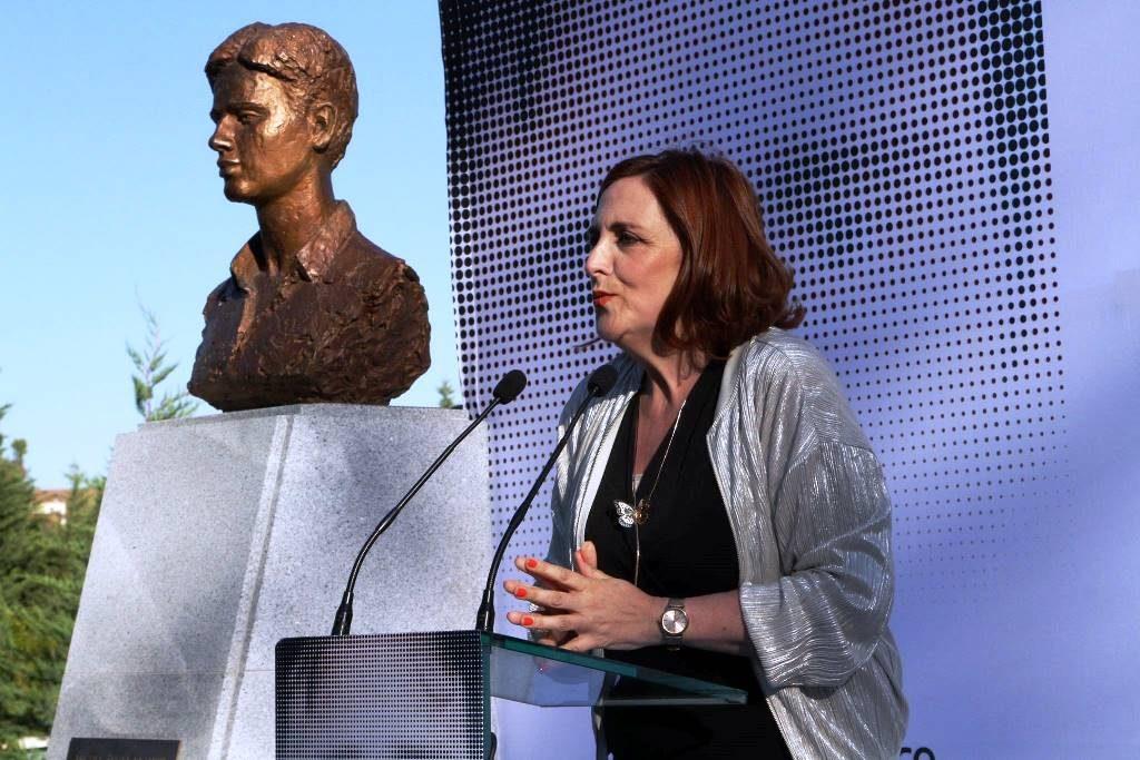 Directora de la FMAB, Cristina Cuesta