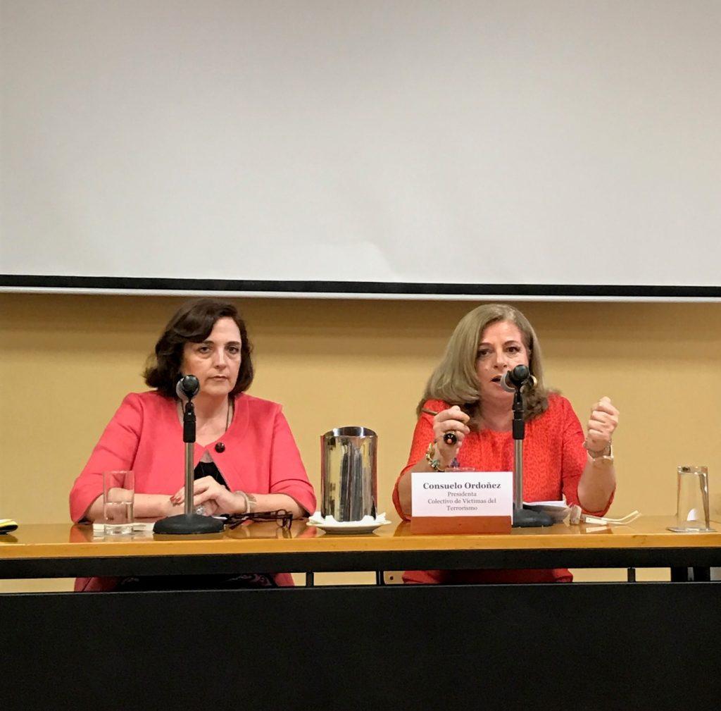 Consuelo Ordóñez, presidenta de Covite, durante su discurso.