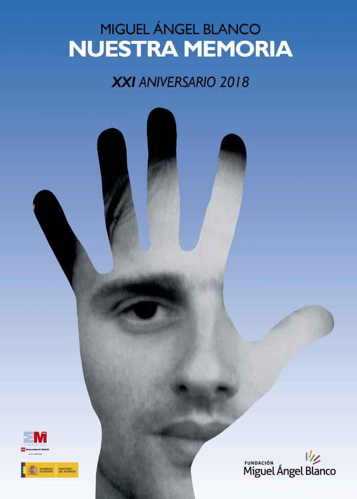 Cartel XXI Aniversario Miguel Ángel Blanco.