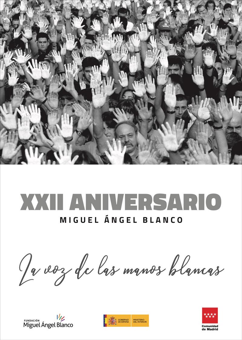 Cartel XXII Aniversario Miguel Ángel Blanco