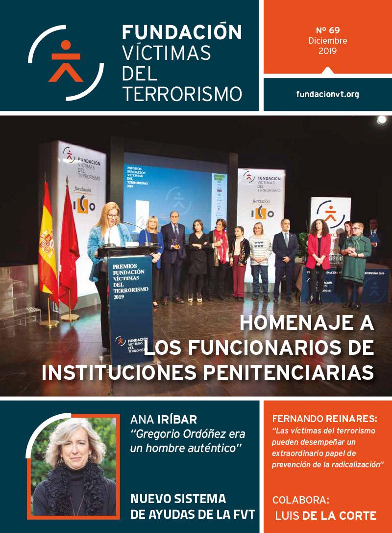 Revista número 69 de la Fundación Víctimas del Terrorismo