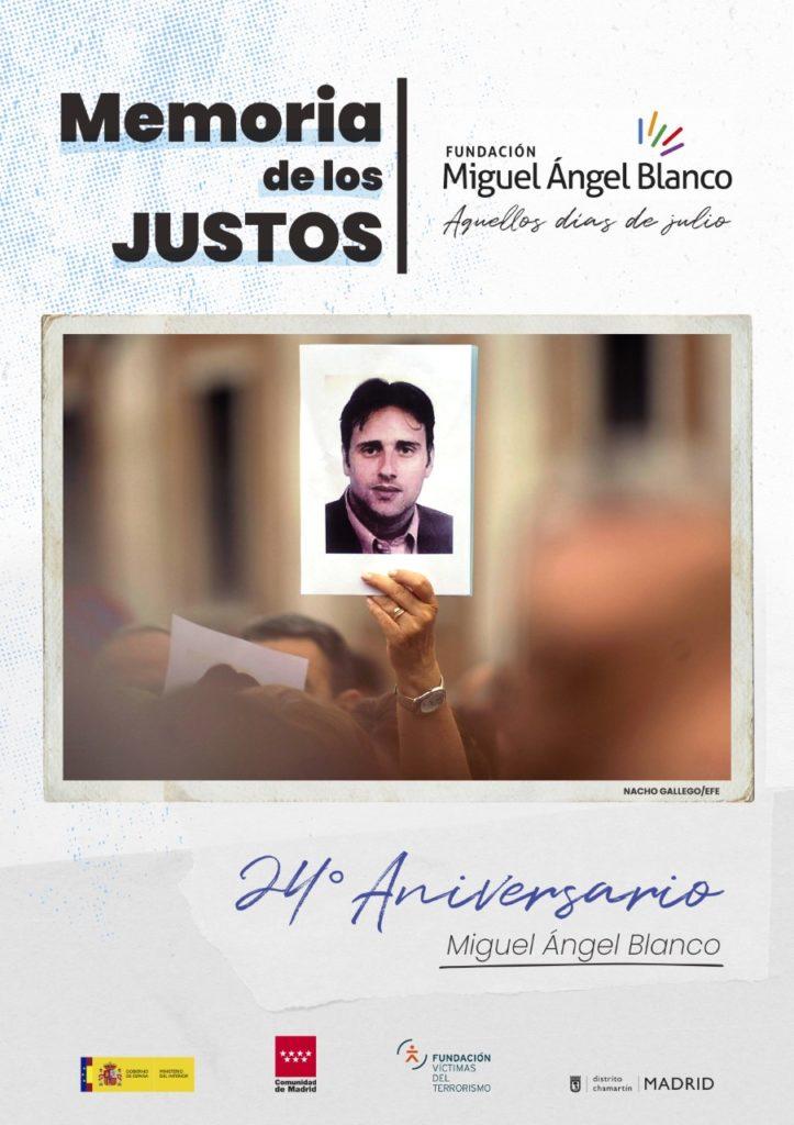 Cartel XXIV Aniversario Miguel Ángel Blanco