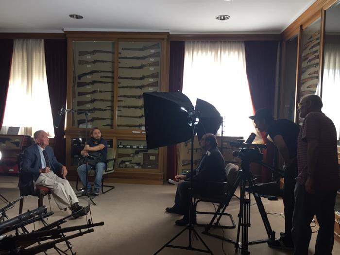 Preparción de la entrevista a Fermín Garcés.