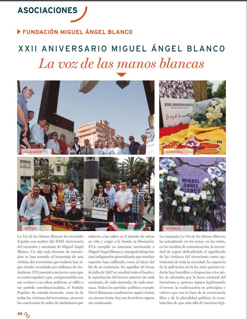 Revista de la Fundación Víctimas del Terrorismo (Septiembre)