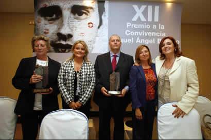 Imagen del XII Premio a la Convivencia Miguel Ángel Blanco